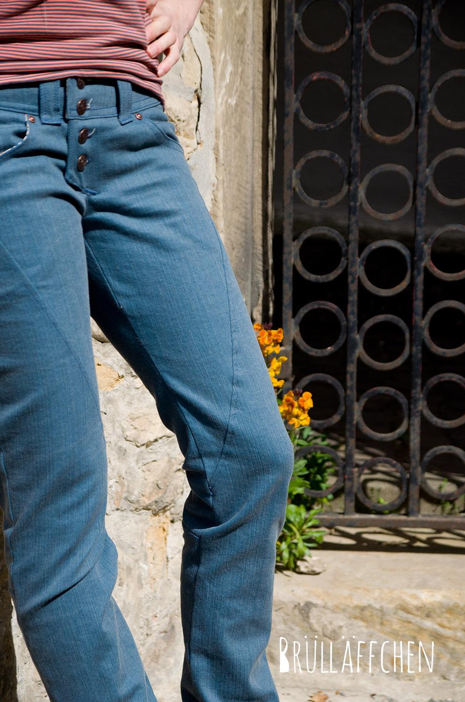 Brülläffchen: Girlfriend-Jeans...