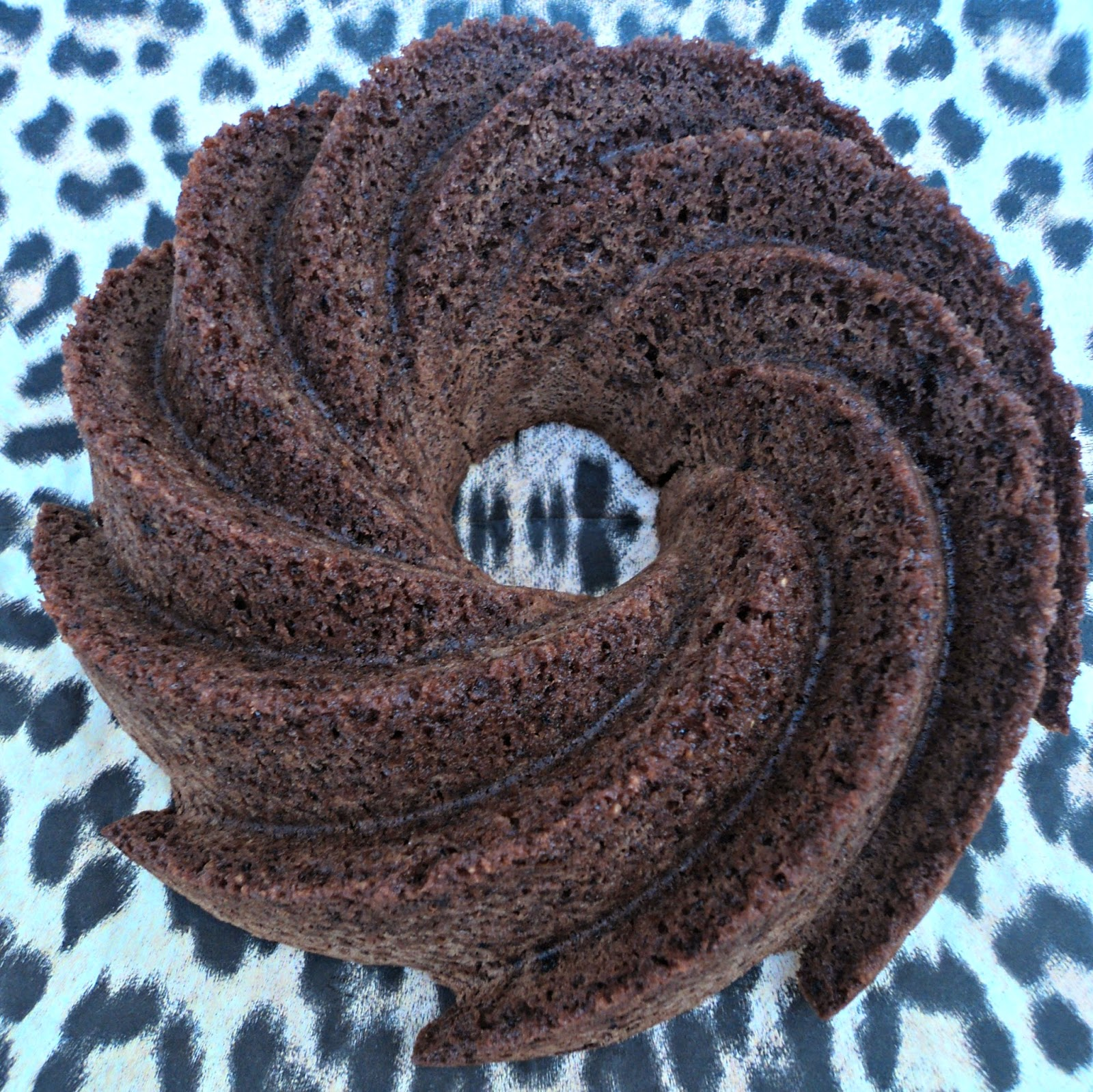 receta casera bundt chocolate