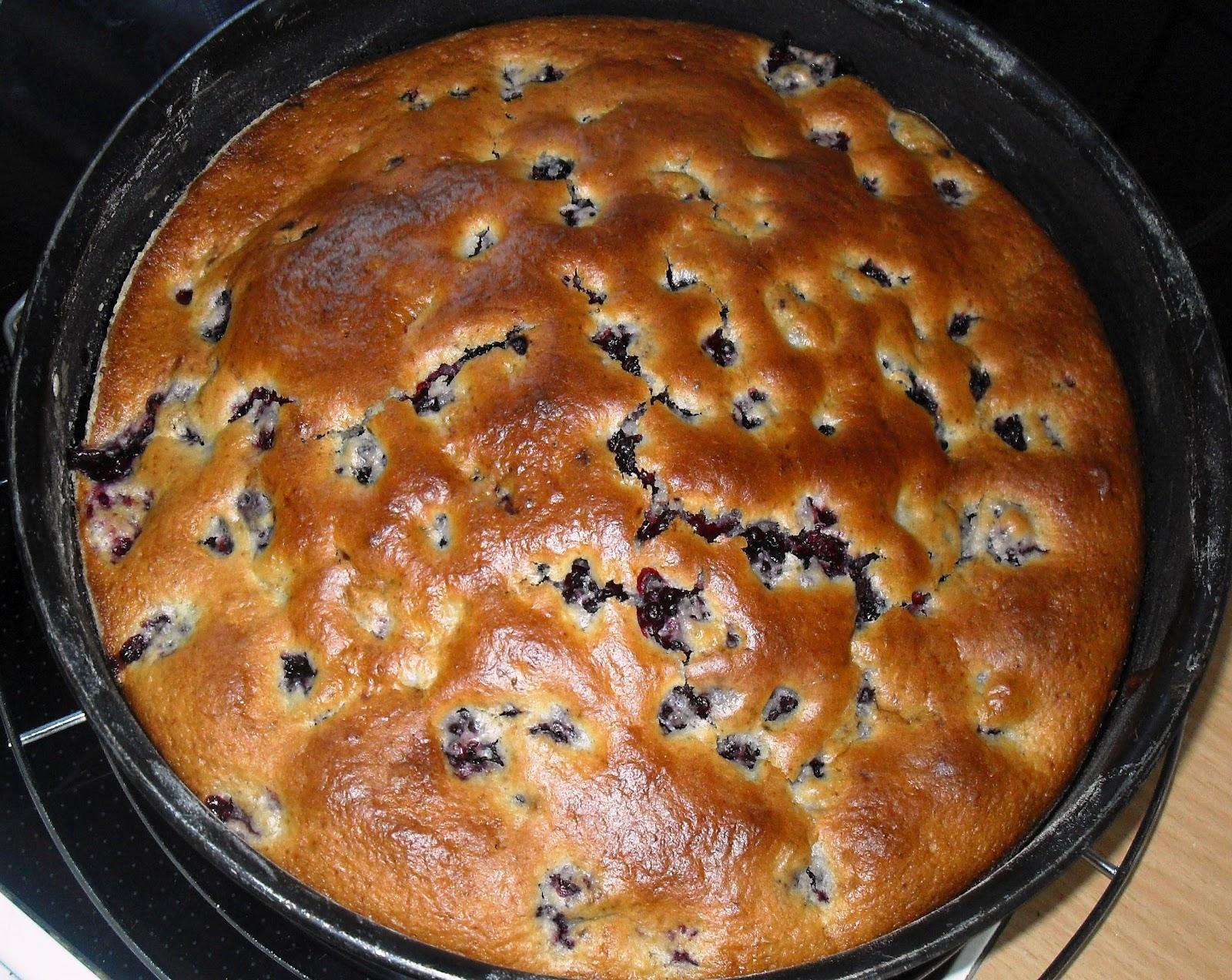 Sanna S Hexenkuche Brombeer Buttermilch Kuchen