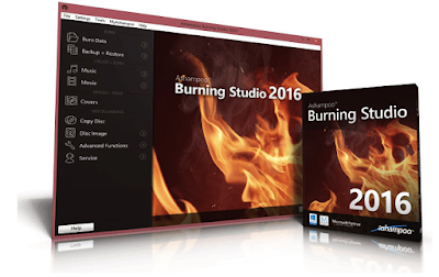 Download Ashampoo Burning Studio 2016 and Software Review