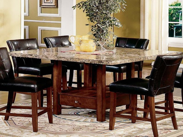 Modern Room with Round Dining Tables Modern Room with Round Dining Tables 2