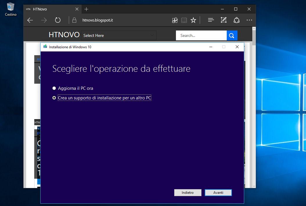 Come installare Windows 10 tramite ISO senza supporto esterno (DVD o PenDrive) 1