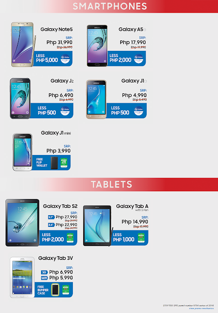 Save up to P5,000 with the Great Samsung Sale 2016