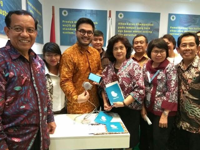 Tele CTG Alat Kesehatan Karya Anak Negeri