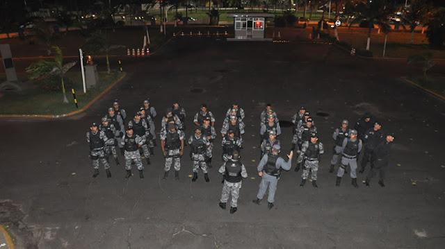 Tropas especiais reforçam o policiamento na capital