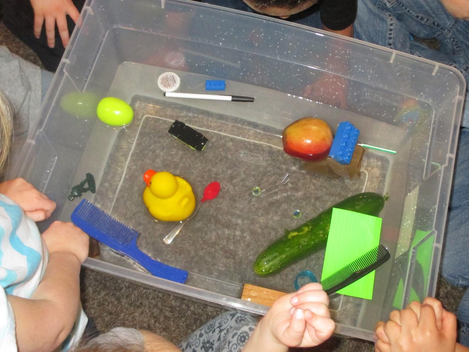 Amy S Abc Preschool Sink Or Float