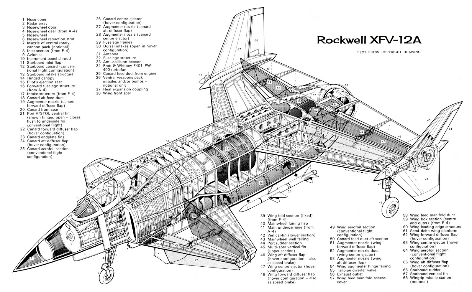 Rockwell XFV-12A