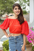 Rhea Chakraborty in Red Crop Top and Denim Shorts Spicy Pics ~  Exclusive 054.JPG
