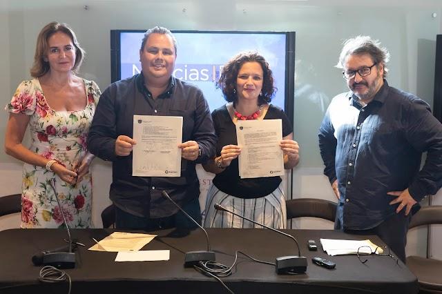 Firman carta de intención, Municipio de Querétaro y el Hay Festival.