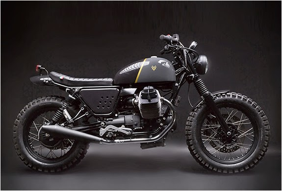 custom moto guzzi v7 stone grease n gas. Black Bedroom Furniture Sets. Home Design Ideas