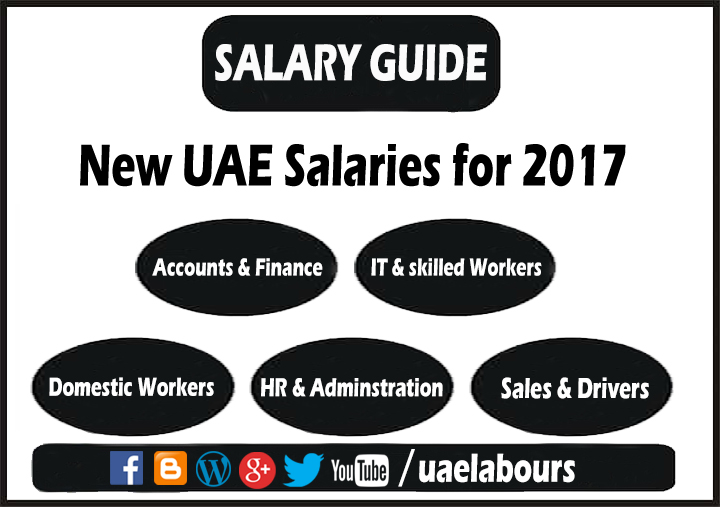 UAE Salaries in 2017 (Salary Guide) - UAE LABOURS