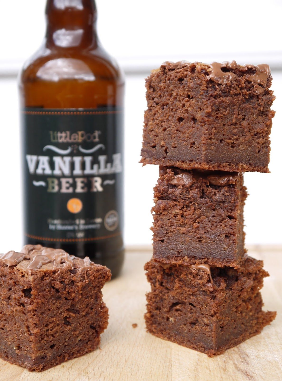 The Betty Stamp Vanilla Beer Brownies Recipe