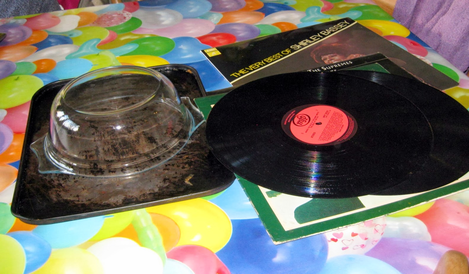 Martisanne Handmade Diy How To Make A Vinyl Record Bowl