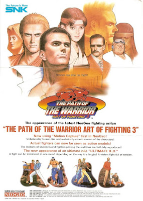 Review - Art of Fighting 3: The Path of the Warrior - Arcade