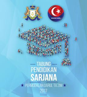 Permohonan Bantuan Tabung Pendidikan Permodalan Darul Takzim (PDT) 2017