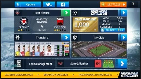 Dream League Soccer 2018 v5.04 Apk