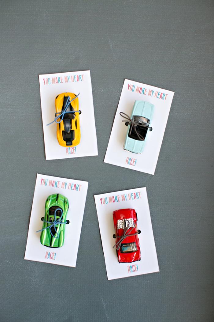 Racecar Valentines