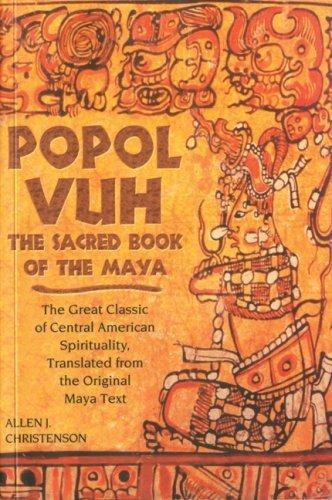 el libro de los mayas popol vuh pdf