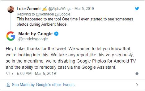 [Cảnh báo] Hình ảnh riêng tư lưu trong Google Photos có thể bị lộ lọt thông qua lỗ hổng bảo mật trên Android Tivi - CyberSec365.org