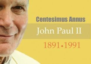 Justicia y Paz Tenerife: Centesimus annus, Juan Pablo II