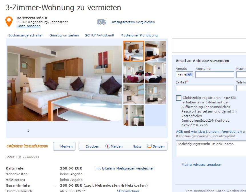 Wohnung In Regensburg Vermieten