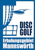 Disc Golf Erholungsgebiet Mannswörth Logo