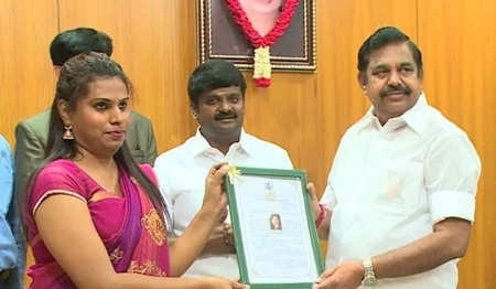 CM gives Job order to 3rd Gender for working in Rajiv Gandhi Govt hospital chennai