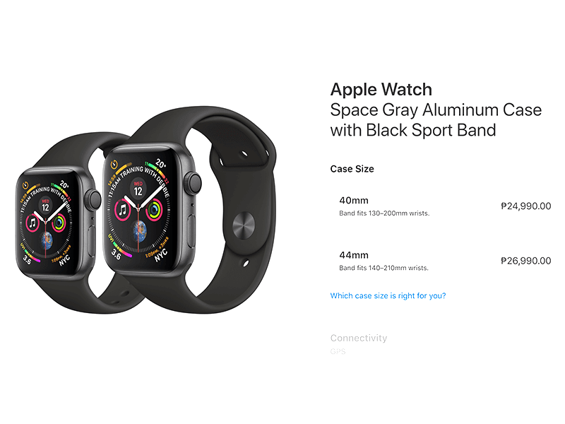 Apple Watch PH pricing!