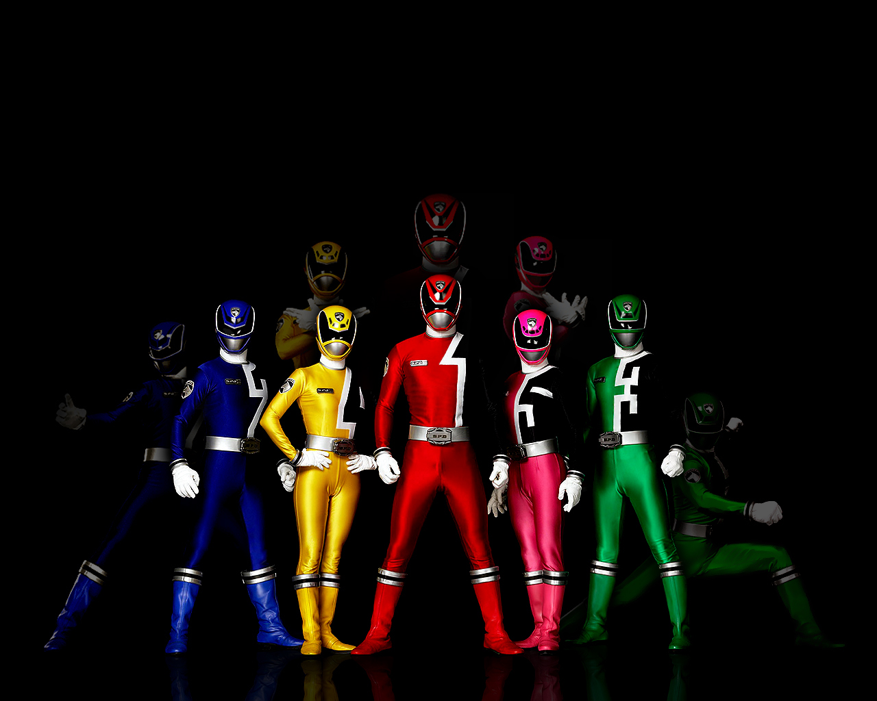 IKKOKDCOCK Complete All Super Sentai Power Rangers Dari Masa