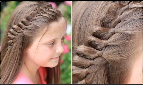 4-Strand French Braid Pinback | Cute Girls Hairstyles - Live Healthy