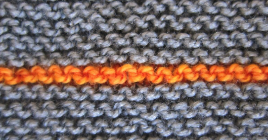 Garter Stitch - The Perfect Learning Tool