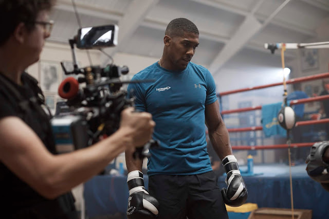 Anthony Joshua Stars in Lucozade Sport's' irst long-form Film, Created by Grey London
