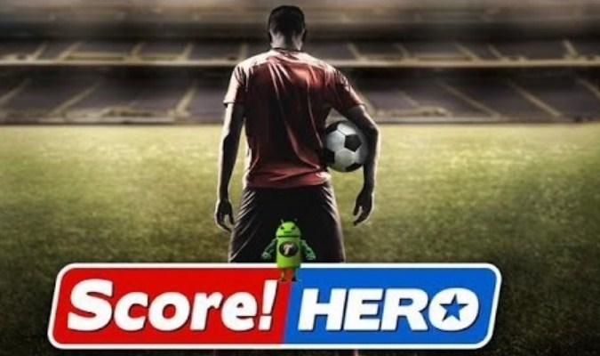 Game Sepak Bola tuk Android - Soccer Hero