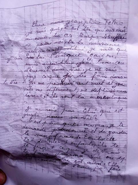 Un jeune âgé de 25 ans et père de 3 enfants s'est suicidé en se  tirant une balle dans la poitrine après avoir écrit un testament.1
