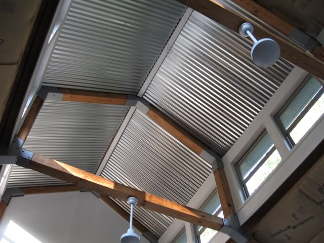 Corrugated Metal Ceiling Garage | www.imgkid.com - The ...