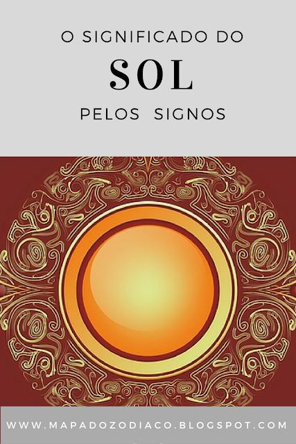 significado do sol pelos signos do zodiaco