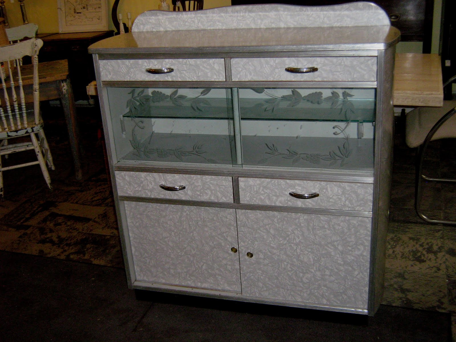 Vintage Kitchen Cabinets For Sale Colorful Accessories Funk And Gruven A Z 1950 39s Cabinet