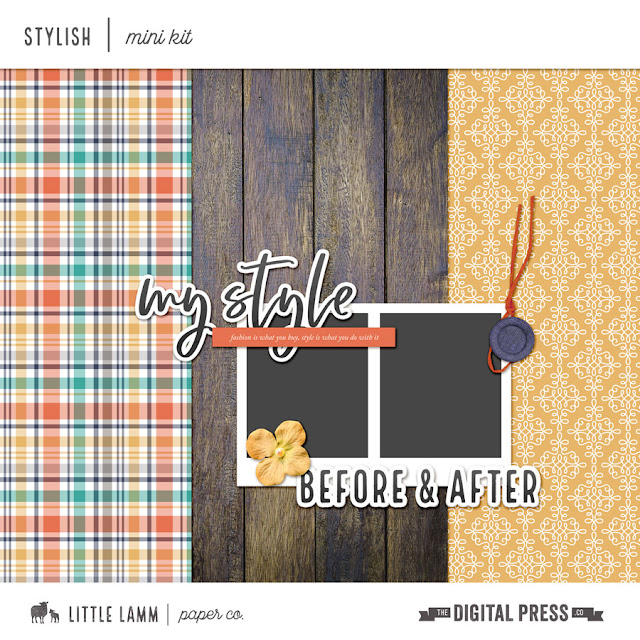 November Digiscrap Parade Mini Kit Freebie!