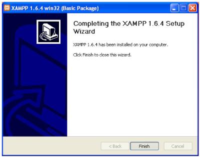 Cara Instal Xampp di PC Windows lengkap dengan Gambar