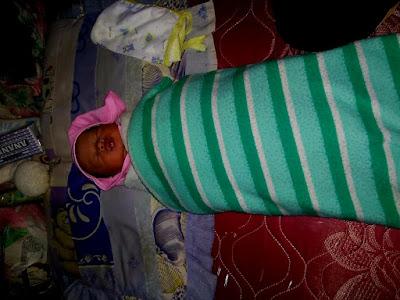 Warga Air Naningan Temukan Bayi Terbungkus Sarung Berdarah