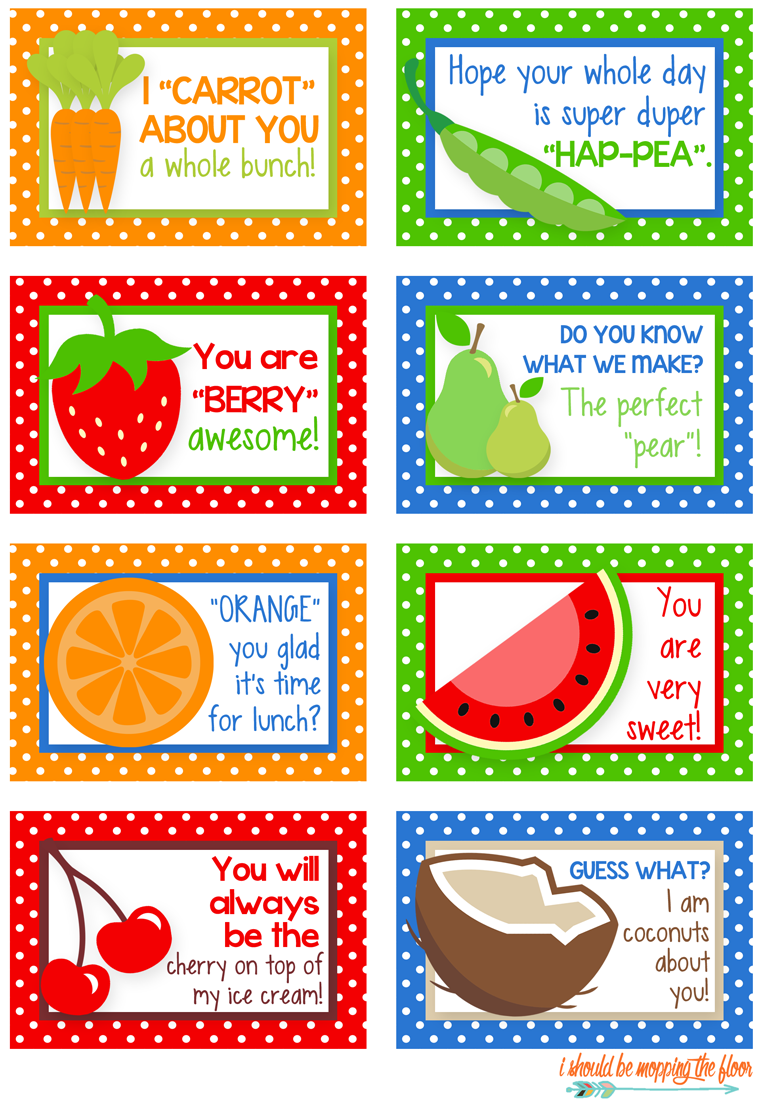 photo regarding Printable Lunch Notes known as Free of charge Printable Lunch Box Notes - Yellow Bliss Street