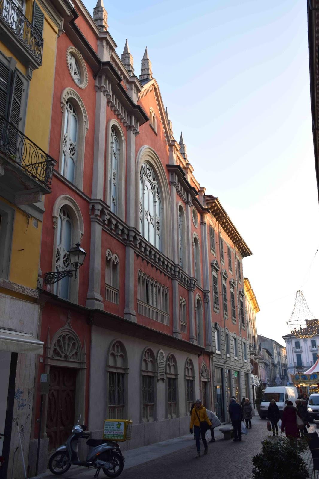 Alessandria Via Milano E La Sinagoga
