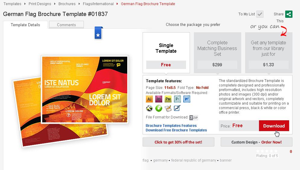 從 PPT 模板到網頁版型:4萬組商務版型免費下載網