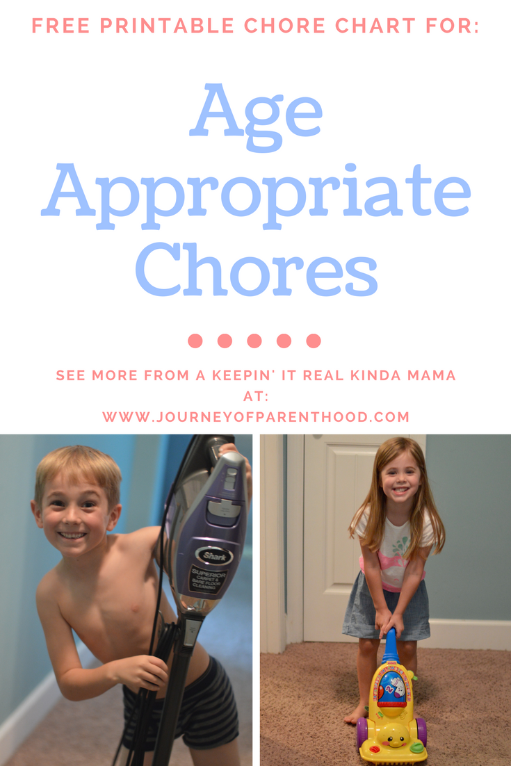 Chore Bootcamp (With Free Printable Chore Charts!)