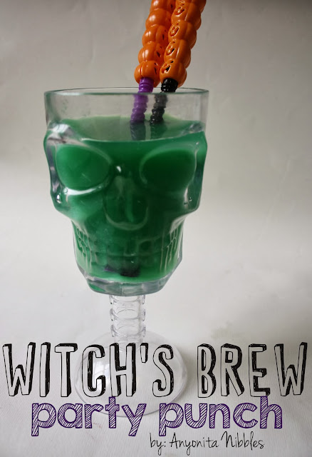 Halloween Witch's Brew Party Punch from www.anyonita-nibbles.com