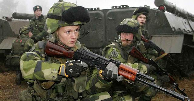 Suécia restabeleceu o serviço militar obrigatório