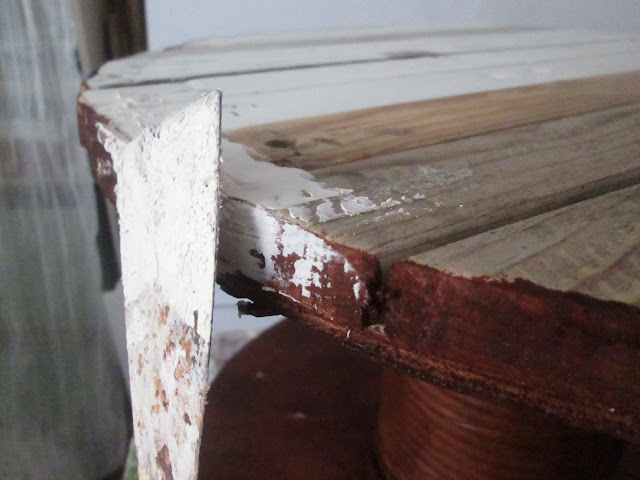 IMG 0149 - שולחן קפה מסליל חוטי חשמל