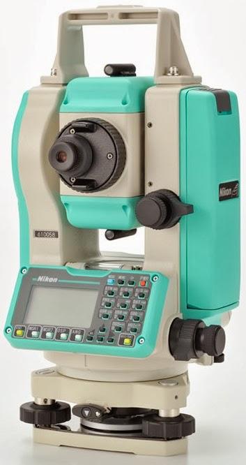 Desain Teknologi Superior Total station  DTM series 322 Nikon