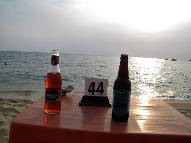 beer sunset beach phu quoc vietnam