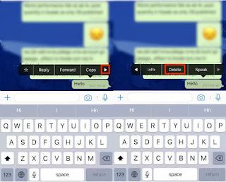 Cara Menghapus Menarik Pesan Whatsapp Yang Sudah Terkirim Kepada Setiap Orang di Android dan iPhone